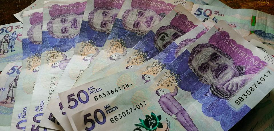 kolumbijské peníze